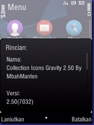 Instal Icons Gravity 2